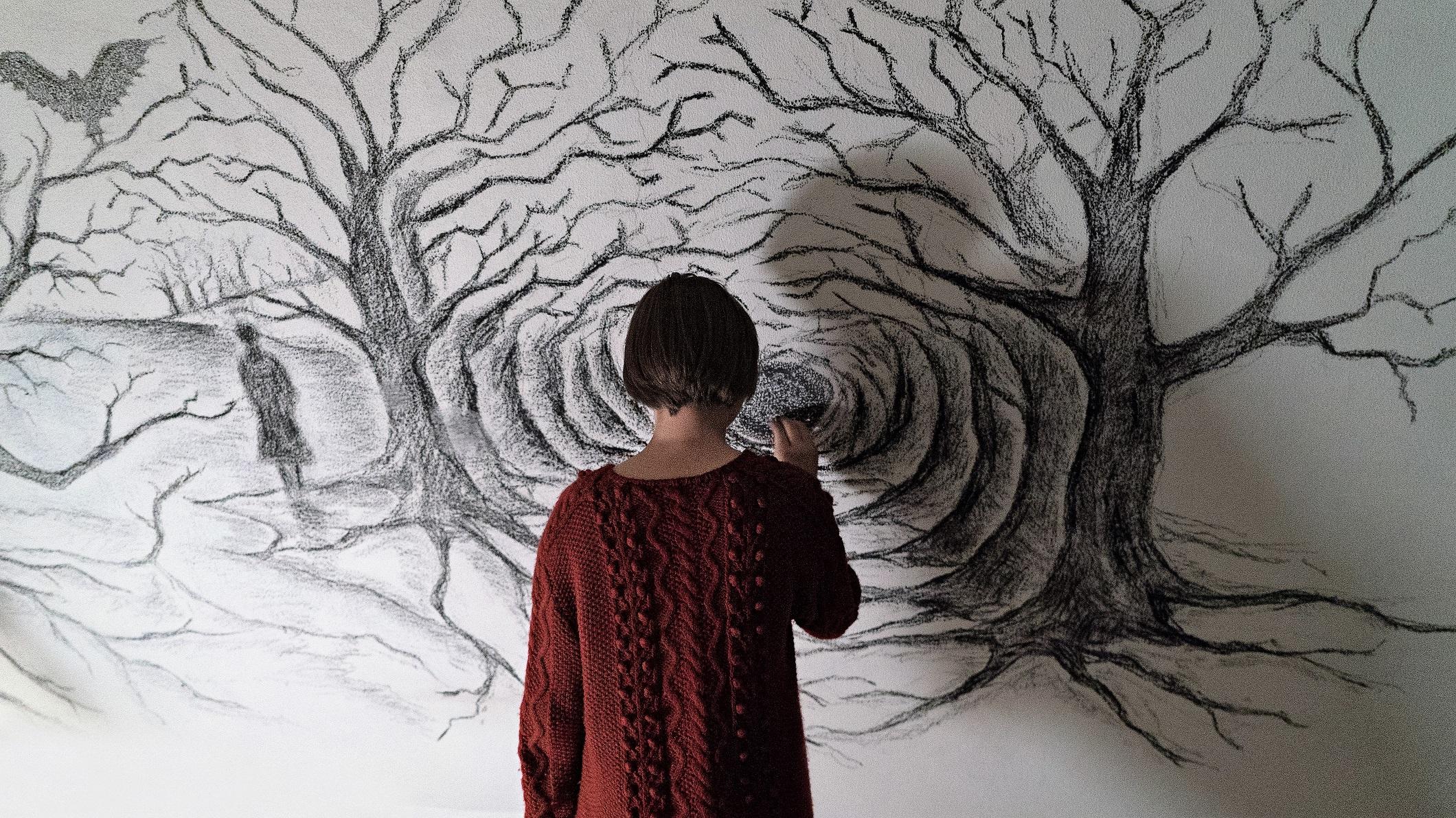 Julia Jedlikowska in Sicilian Ghost Story - ph Giulia Parlato