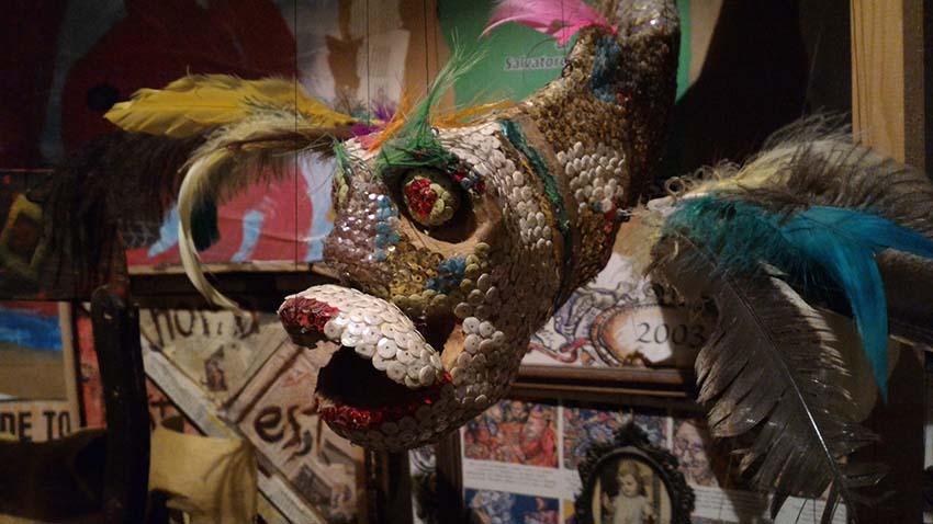 Un personaggio di Colapesce della Bottega dell'Invisibile - ph Sicilymag