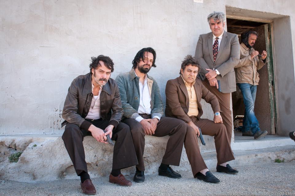 Salvatore Ragusa sul set di Maltese, il romanzo del commissario
