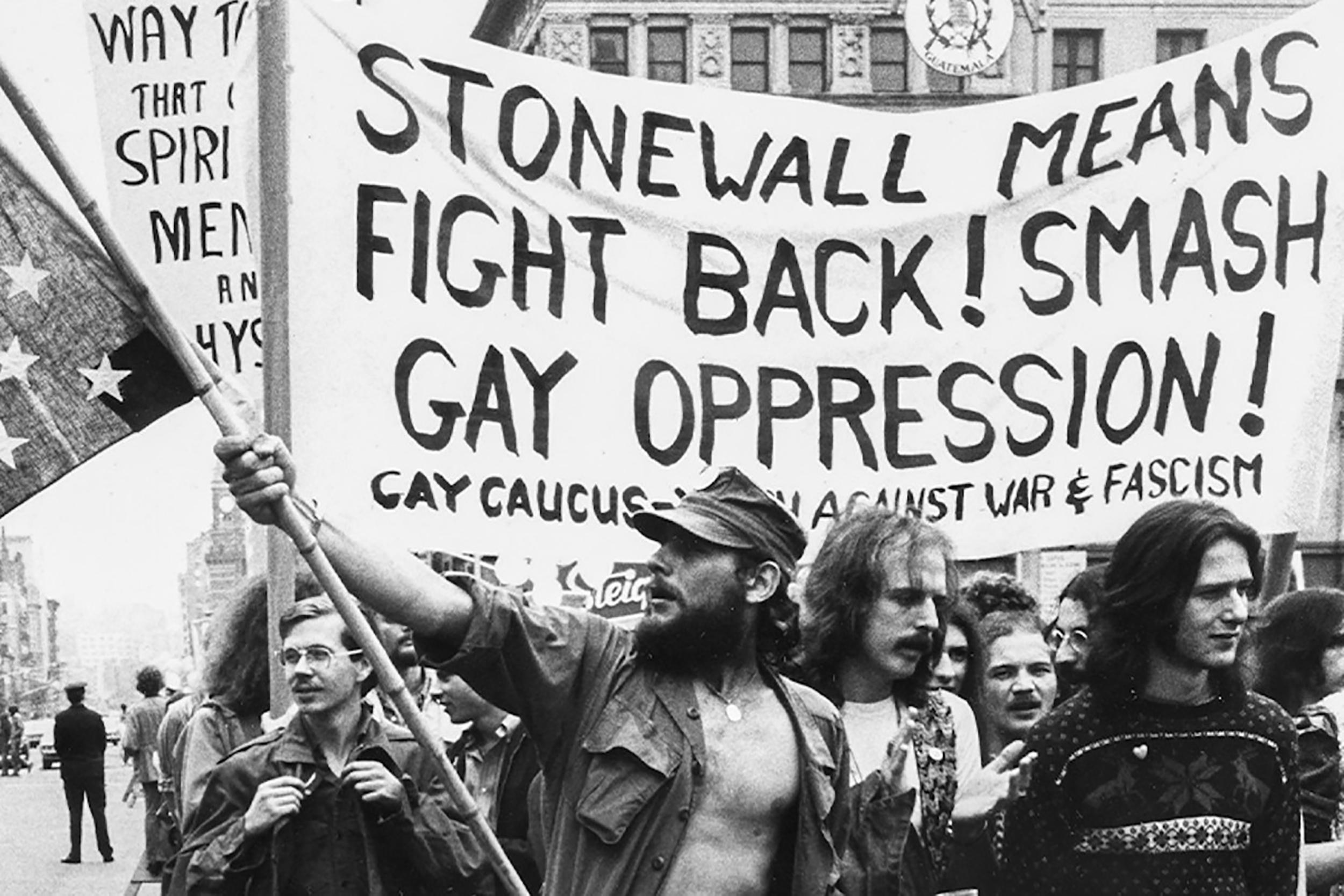Le proteste di Stonewall nel 1969