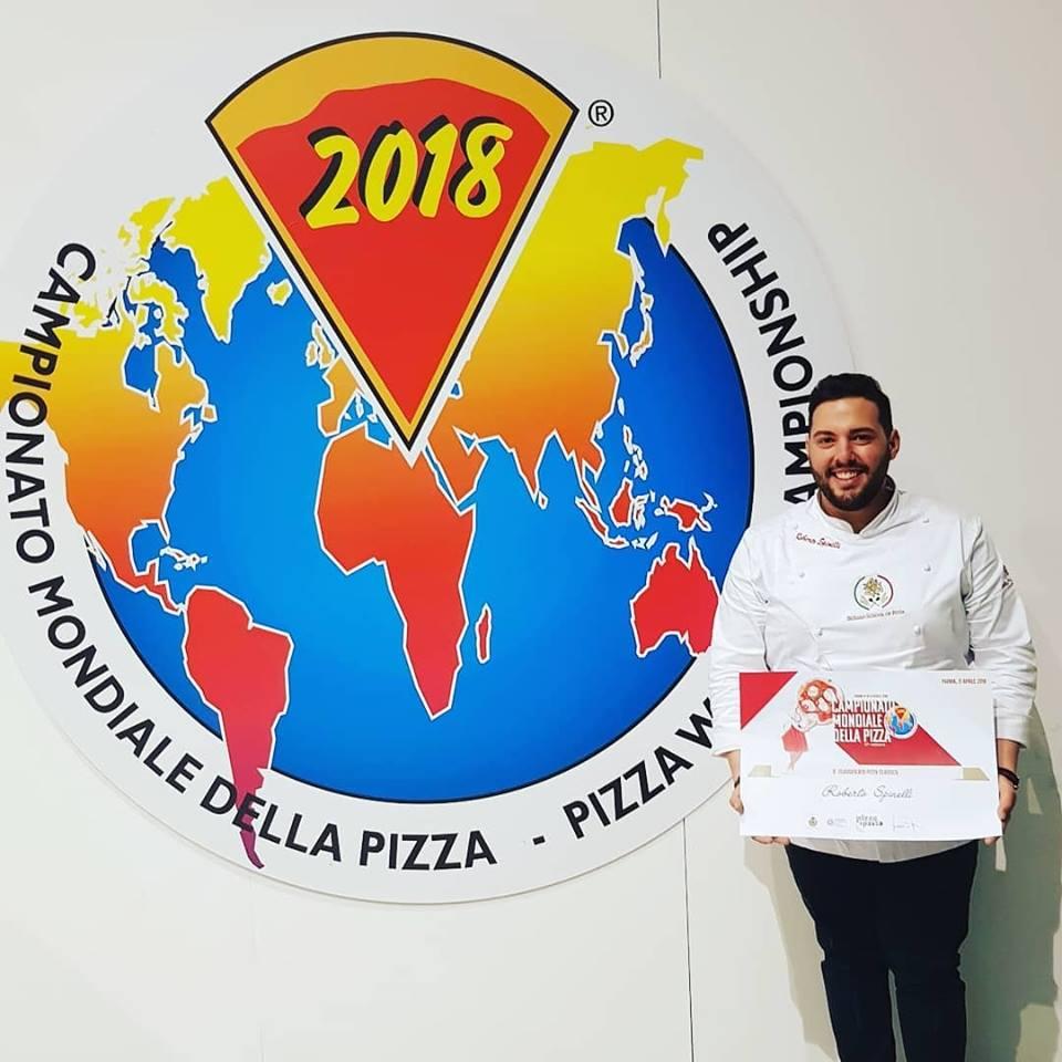 Roberto Spinelli 8° classificato al Campionato Mondiale della Pizza