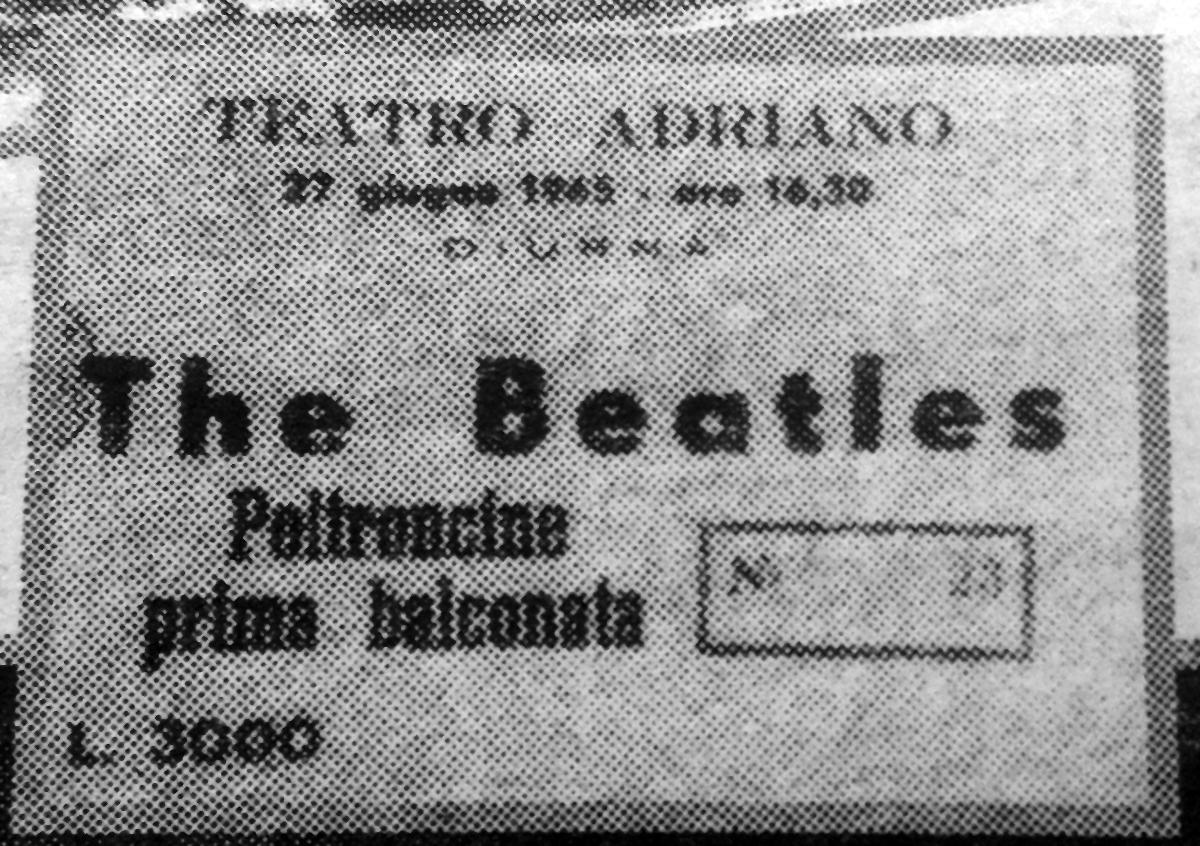 Il biglietto donato da Gregorio Scuto a Rori Grasso