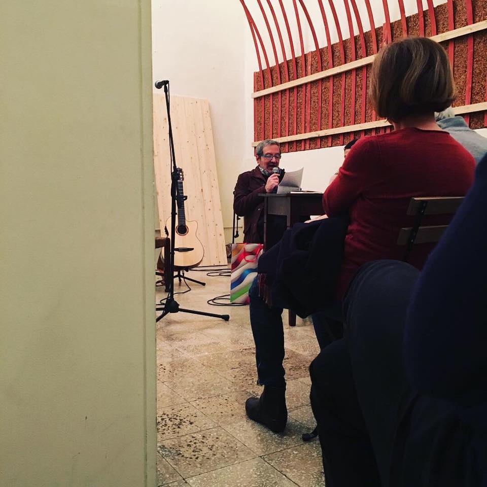 Un evento spot dello scorso marzo con Antonio Di Grado