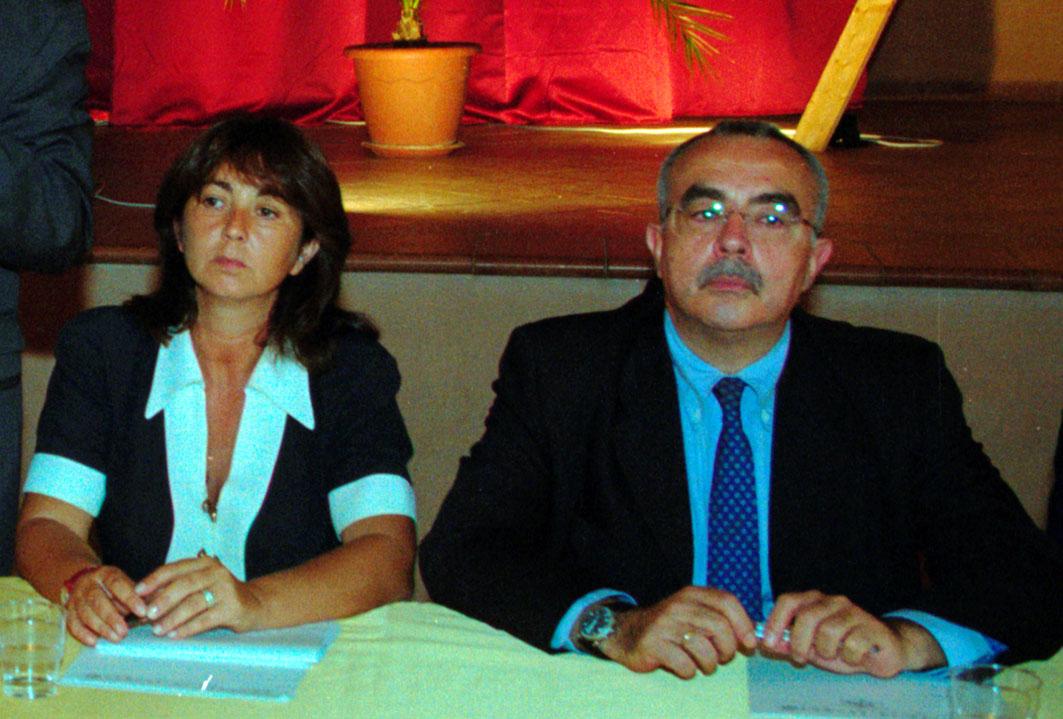 Amelia Bucalo Triglia con Francesco Musotto