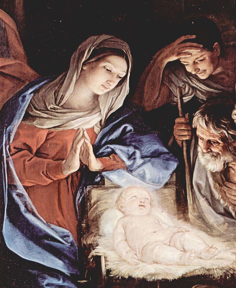 Guido Reni, La nascita di Gesù