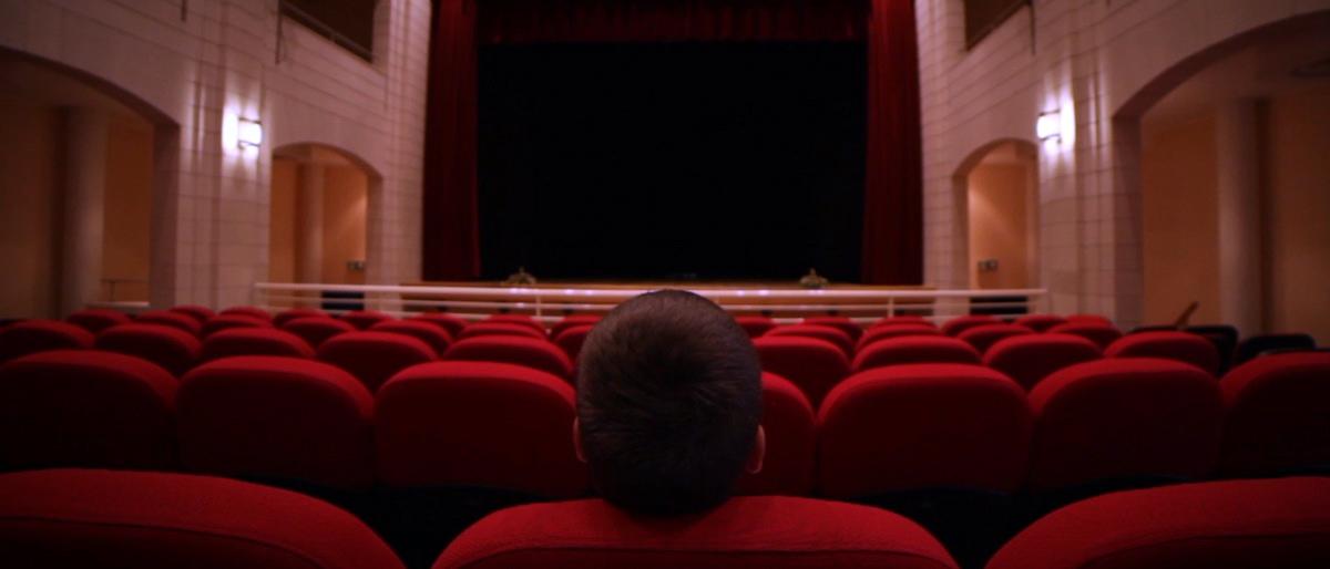 Il Teatro Tempio nel logo del festival che omaggia Nuovo cinema Paradiso di Tornatore