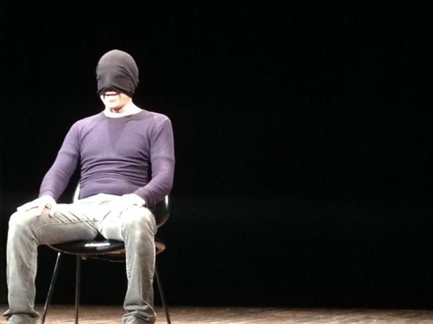Christian Di Domenico in scena
