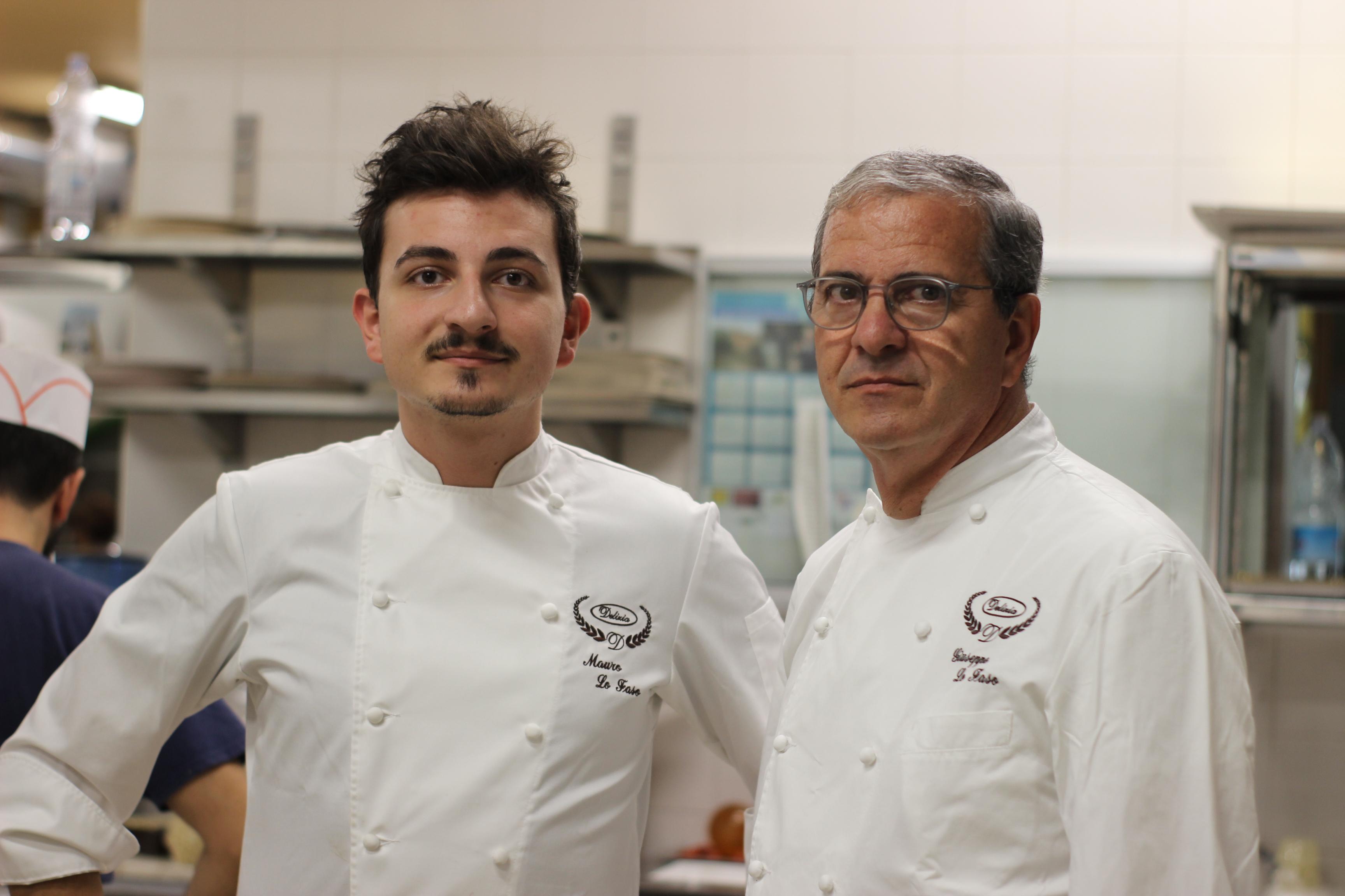 Mauro e Giuseppe Lo Faso, pasticceria La Delizia di Bolognetta