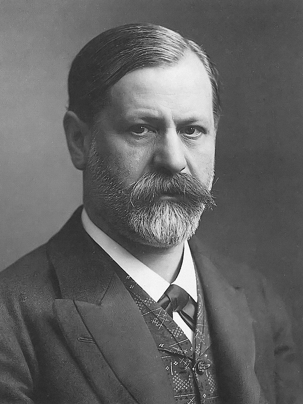 Un 49enne Sigmund Freud nel 1905