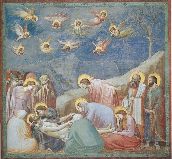 Il Compianto su Cristo Morto di Giotto