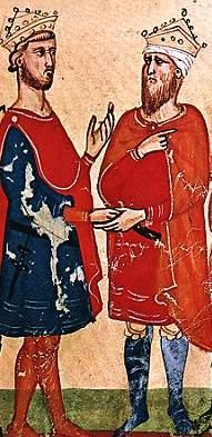 Federico II e il sultano al-Malik al-Kamil