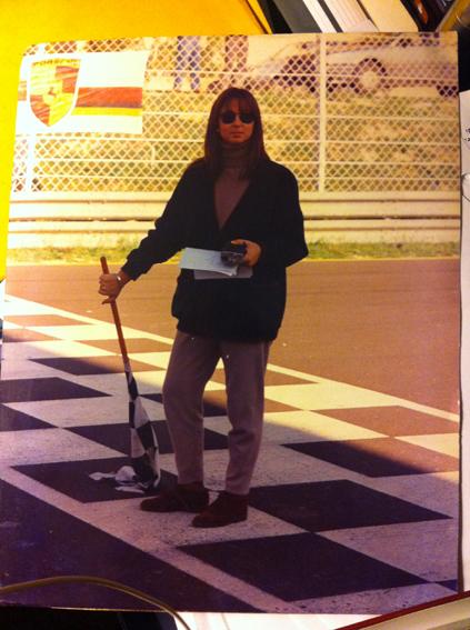 Amelia Bucalo Triglia all'autodromo di Pergusa