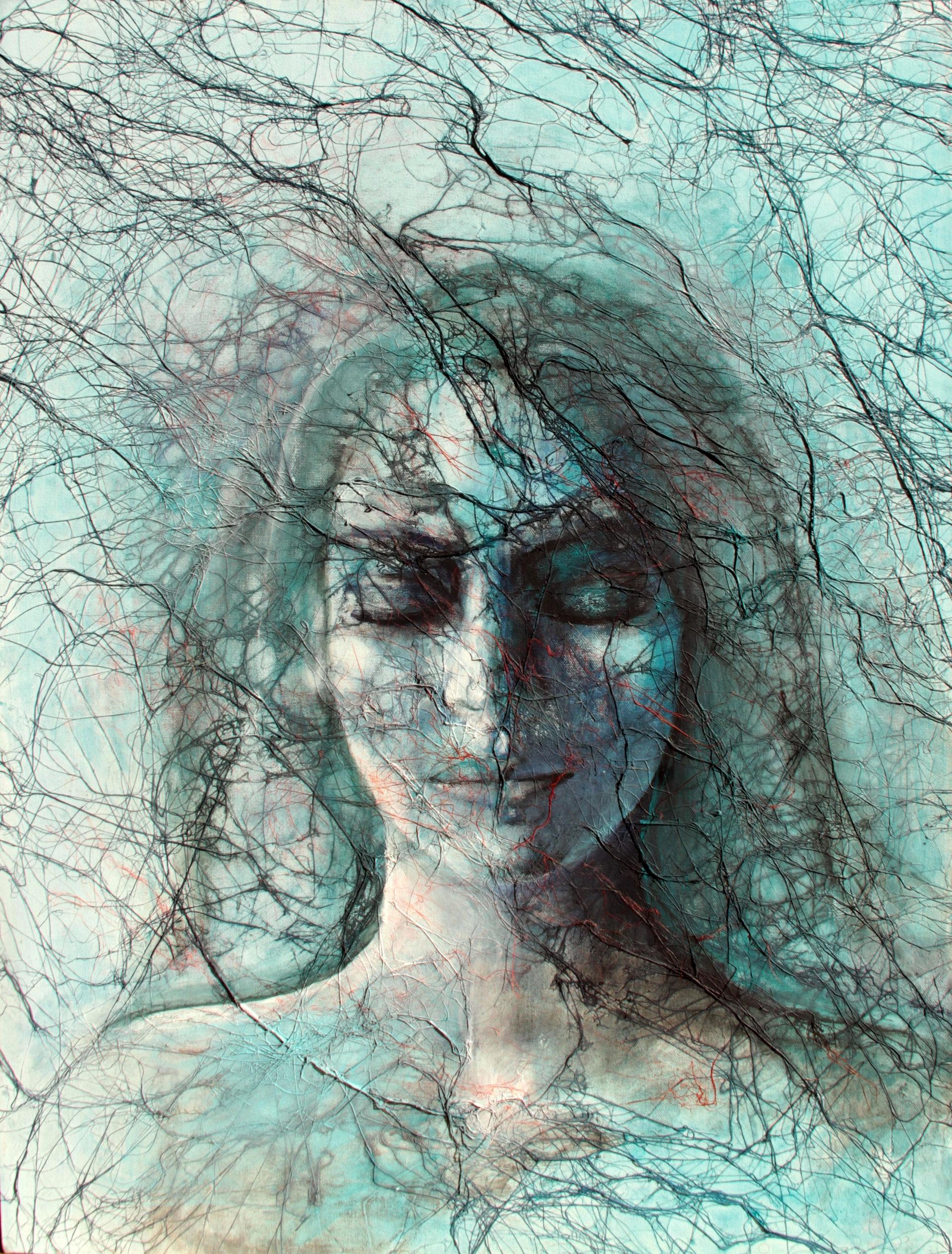 Ad occhi chiusi, opera di Roberta Zambon