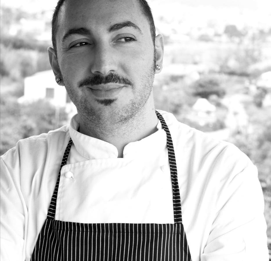 Lo chef Dario d'Angelo