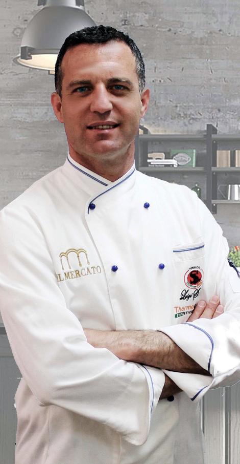 Salvatore Latino chef de Il mercato di Ispica