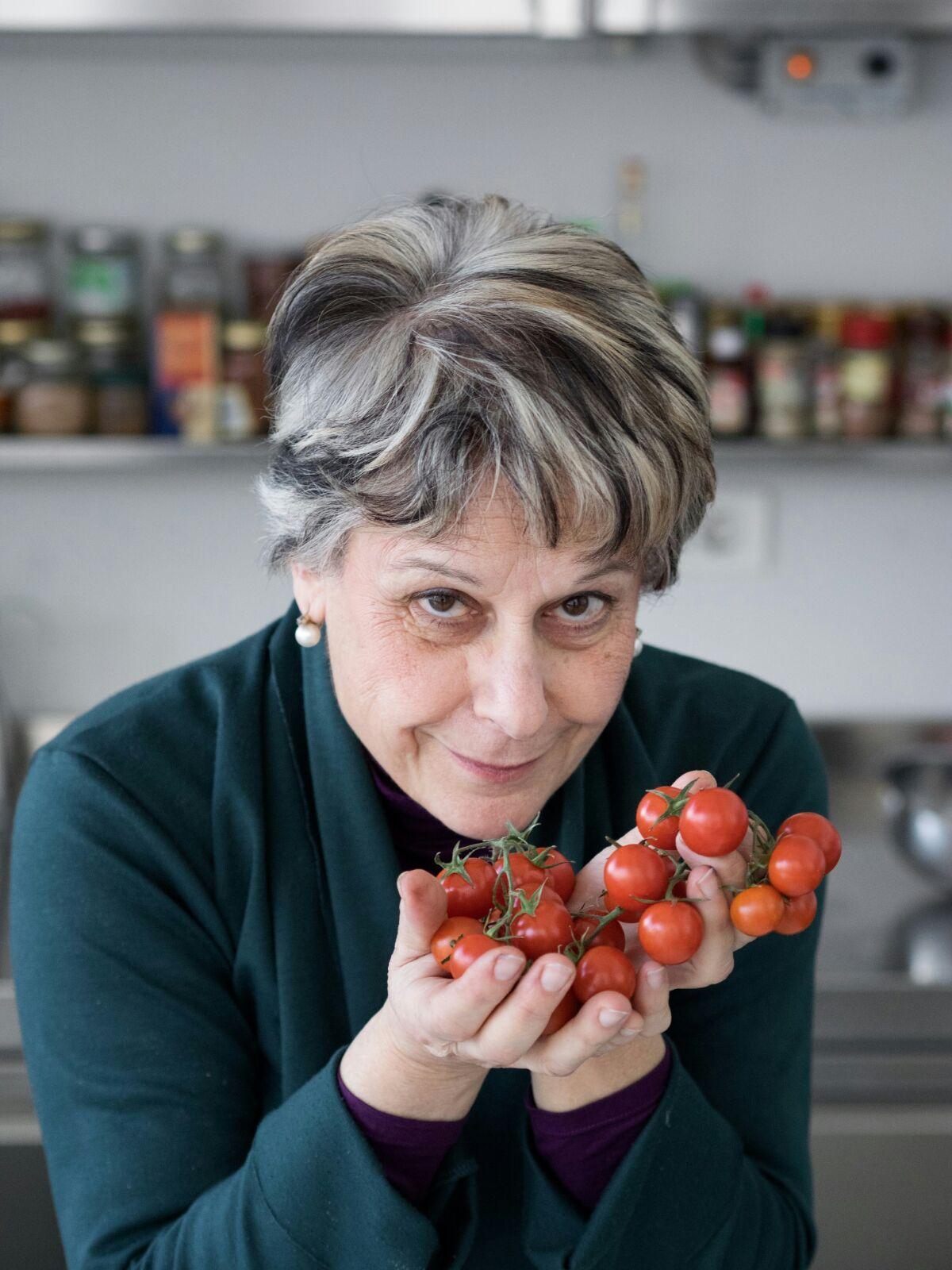 La scrittrice palermitana Simonetta Agnello Hornby
