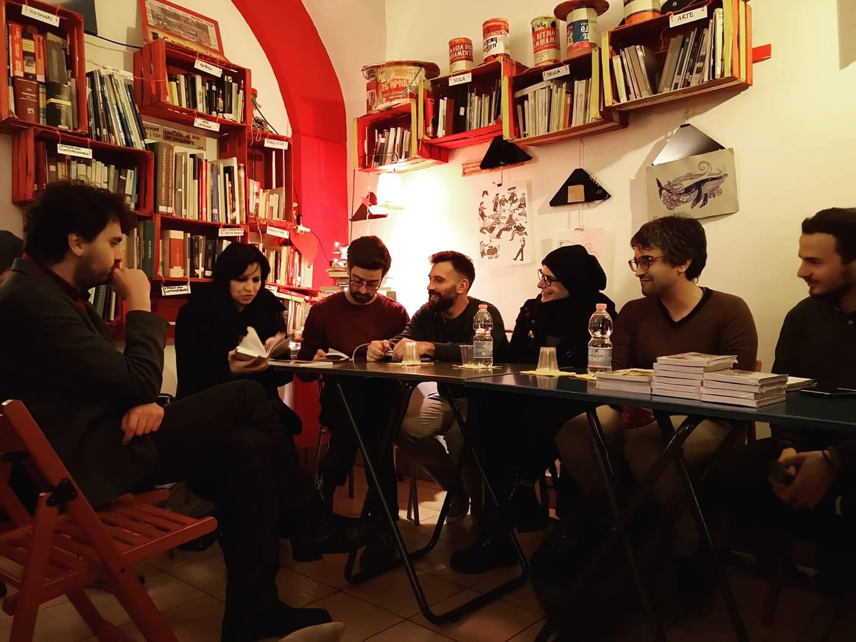 I ragazzi di Rossomalpelo per la recente festa della Piazza dei Libri a Catania