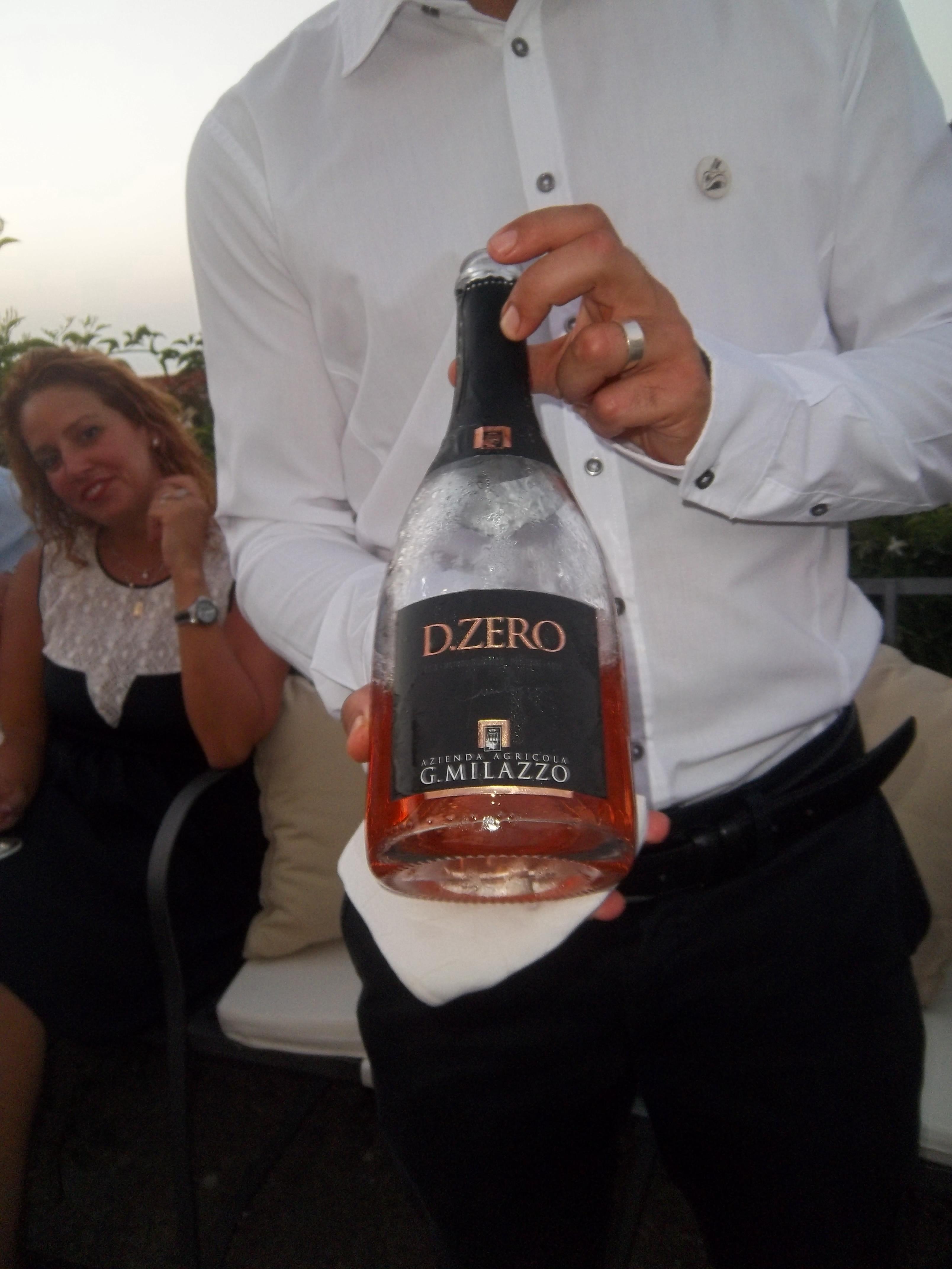 Il D.Zero spumante rosè metodo classico, senza zuccheri, con fine sapidità