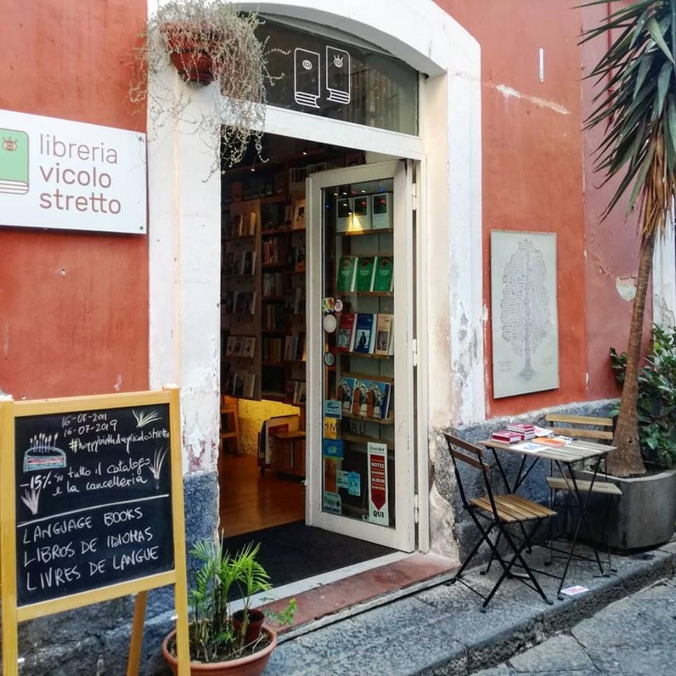La libreria Vicolo Stretto di via Santa Filomena