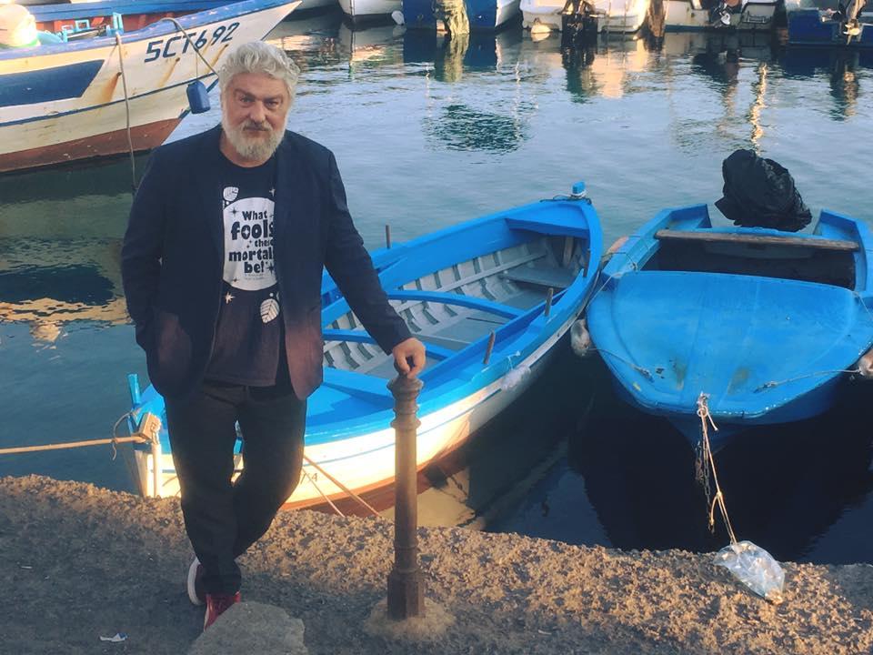 Lo scrittore catanese Ottavio Cappellani