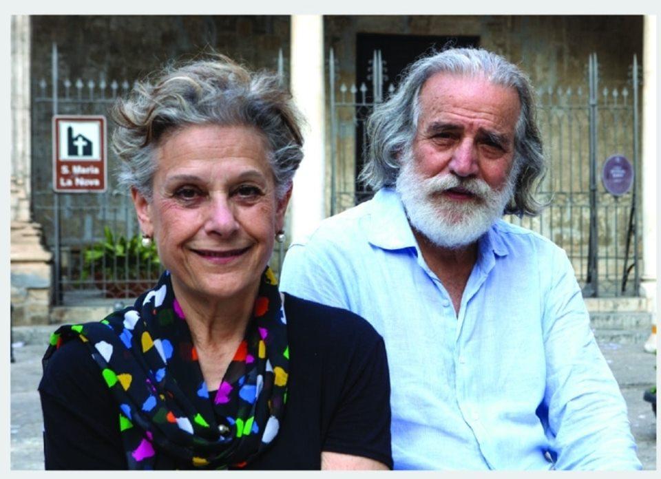 Simonetta Agnello Hornby e Mimmo Cuticchio