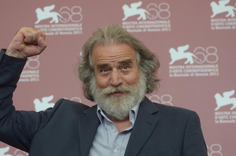 Mimmo Cuticchio alla 68° edizone del Festival del Cinema di Venezia