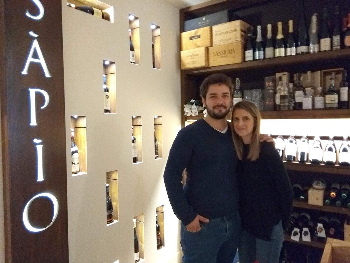 Ingiulla con la fidanzata Roberta Cozzetto, foto di Rosalba Cannavò