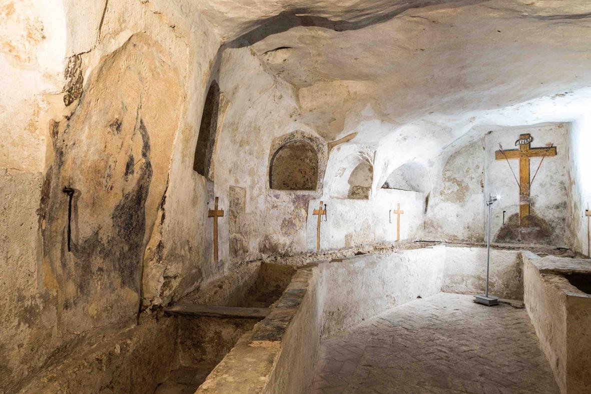Palermo, Cripta del complesso monumentale di Casa Professa