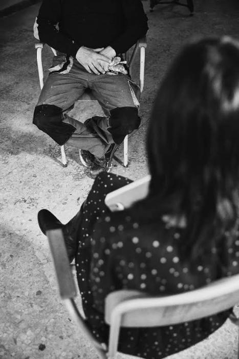 Un'altra intervista finita nel libro-inchiesta, foto di Alessandro Gruttadauria