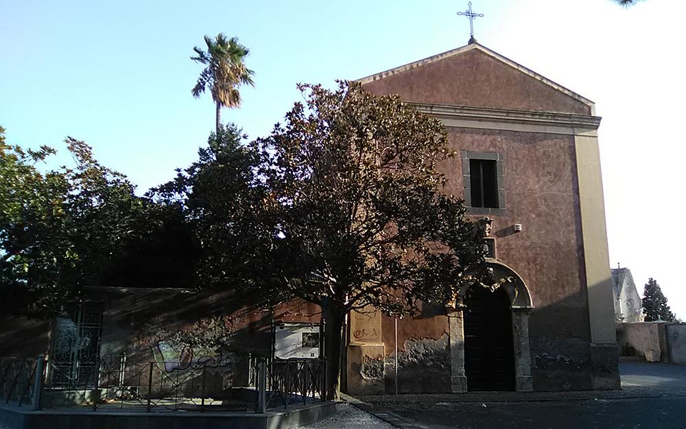 Sito archeologico romano attaccato alla Chiesa di Cristo al Monte