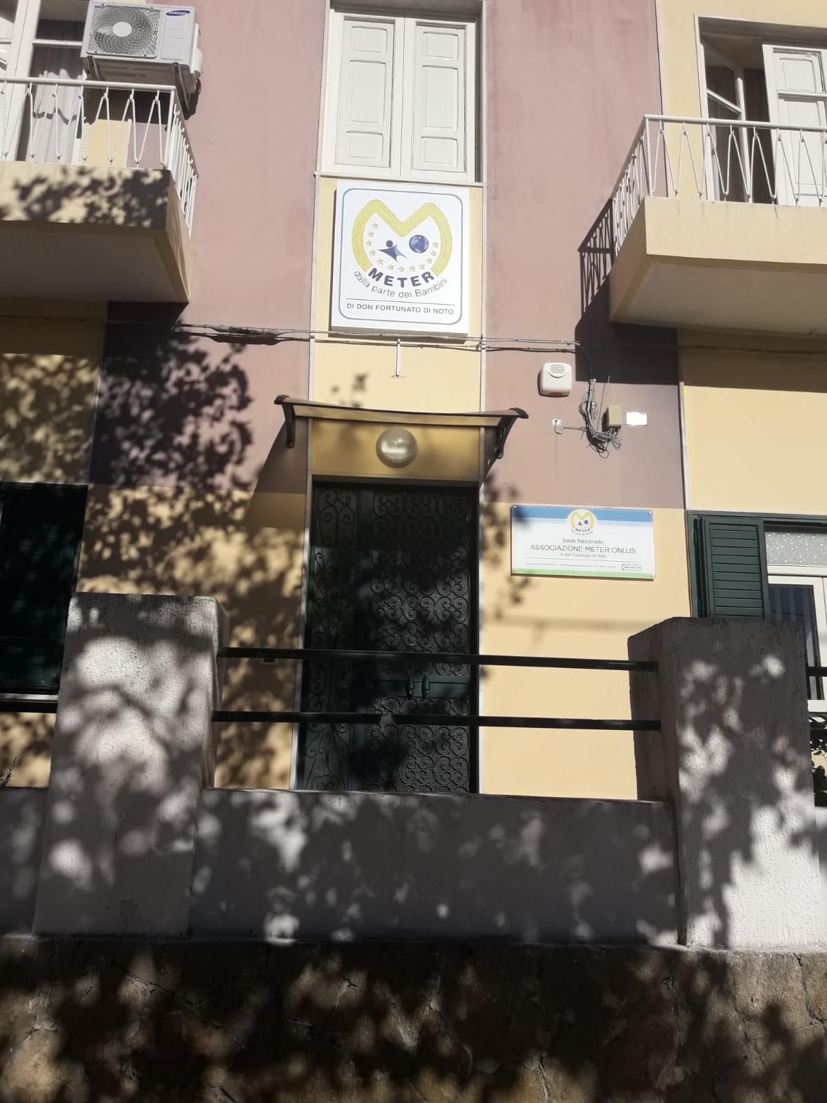 La sede centrale di Meter ad Avola
