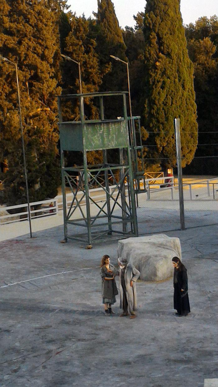 De Luca-Ismene con De Francovic-Edipo e Caronia-Antigone