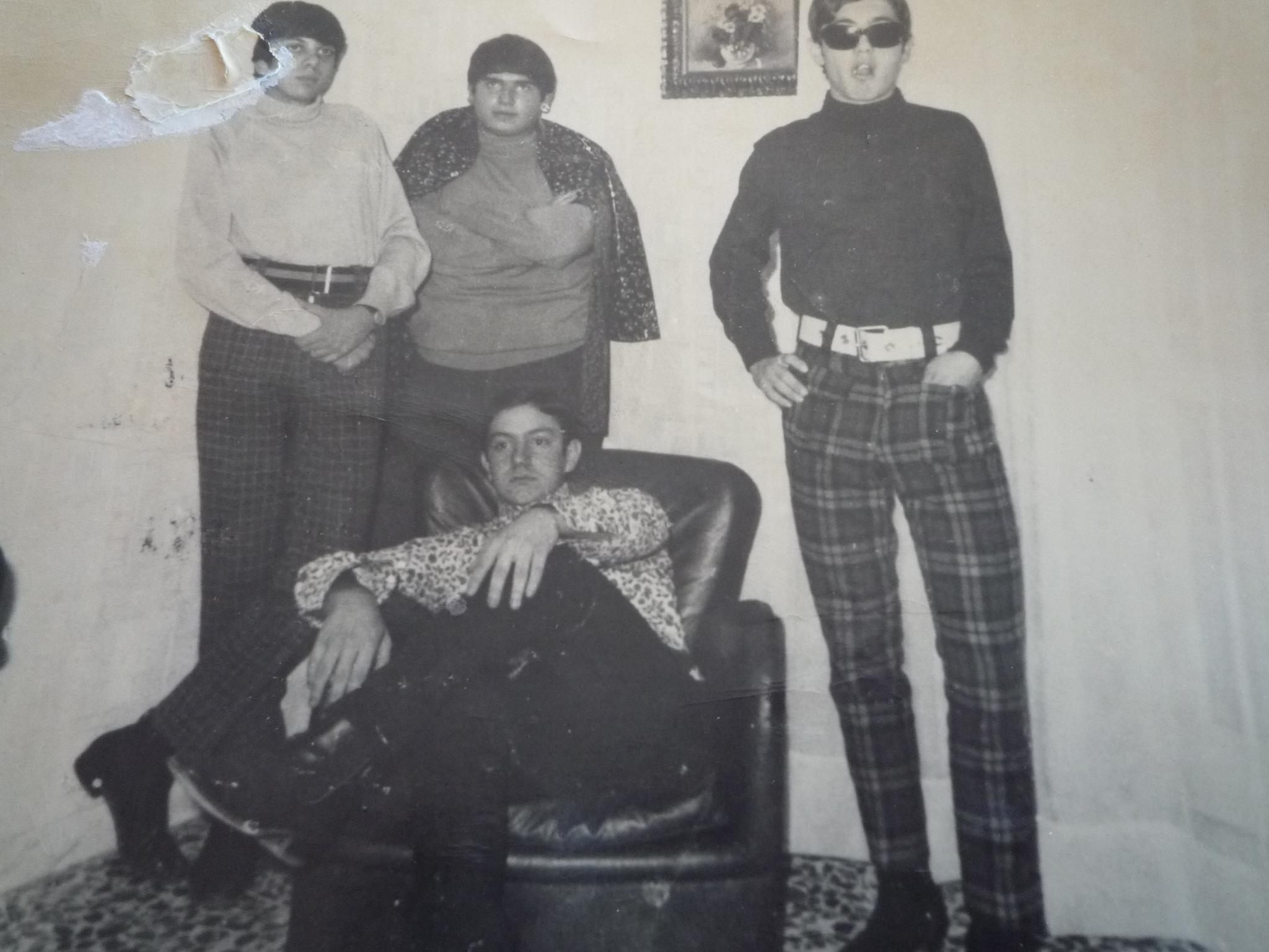 Ielo, Grasso, Scuto e Costa, i Crabs nel 1964