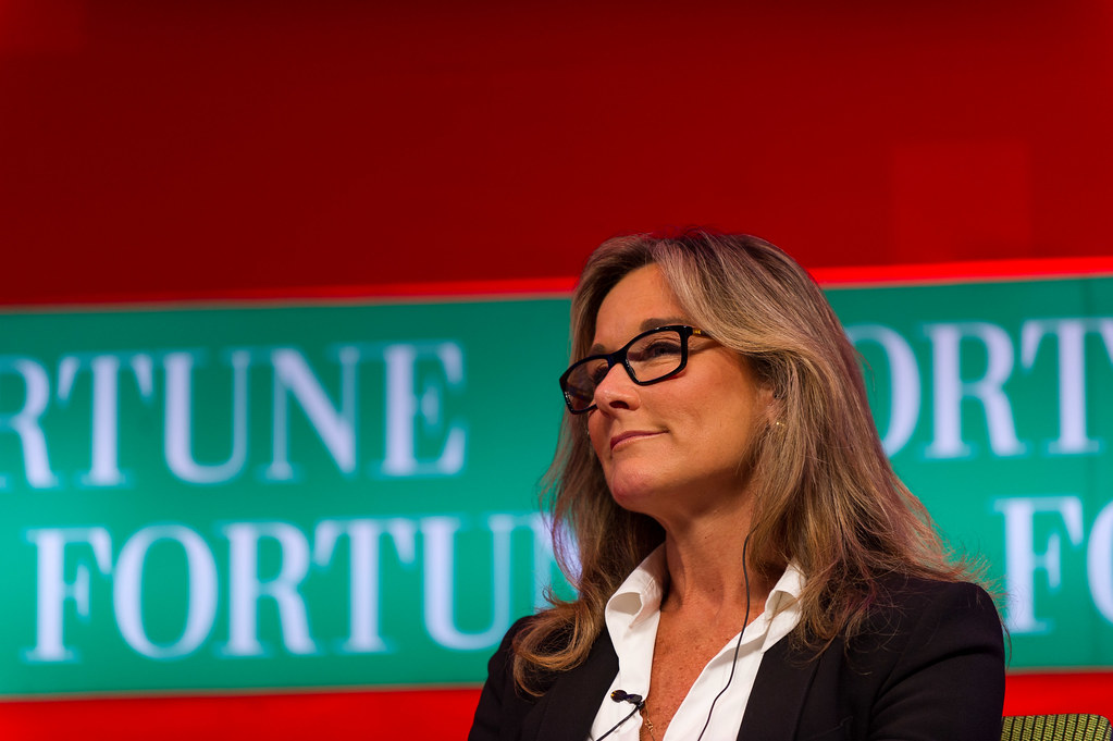 Angela Ahrendts - ph Fortune Live Media (Flickr)