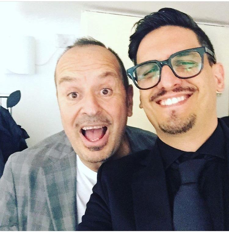 Fabio Canino e Alberto Milazzo