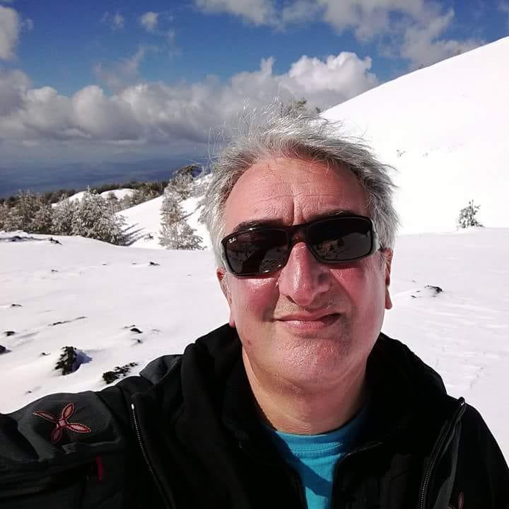 Giuseppe Riggio, presidente dell'associazione Etnaviva