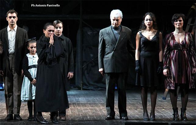 Sei personaggi in cerca d'autore al Teatro Stabile di Catania