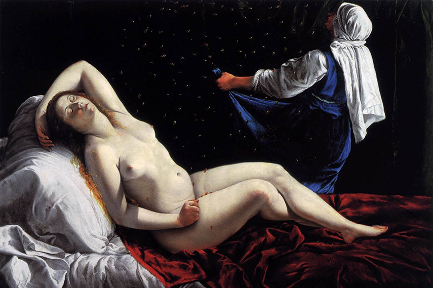 Danae, Artemisia Gentileschi
