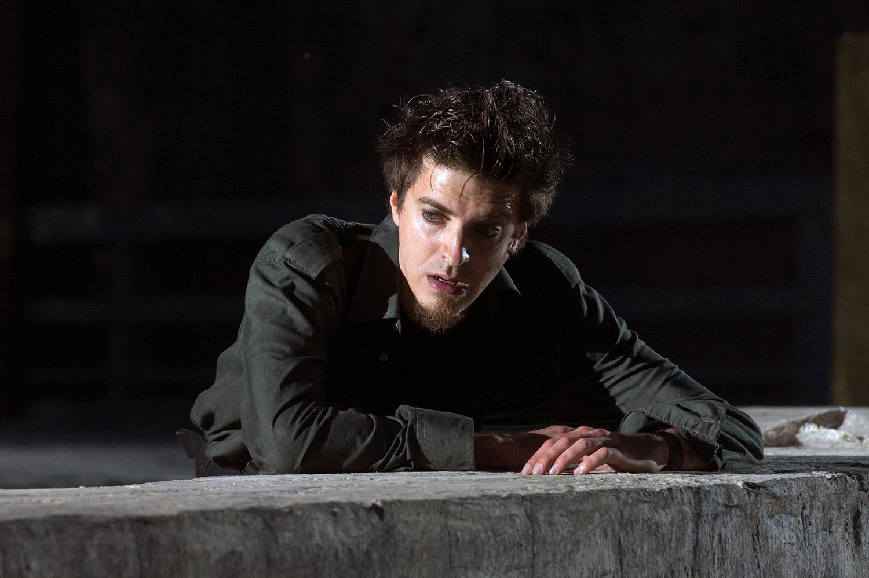 Fabrizio Falco interpreta Polinice - ph Tommaso Le Pera