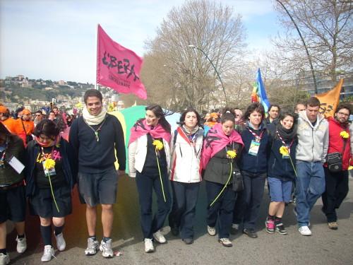 Il 21 marzo di Libera a Napoli nel 2009