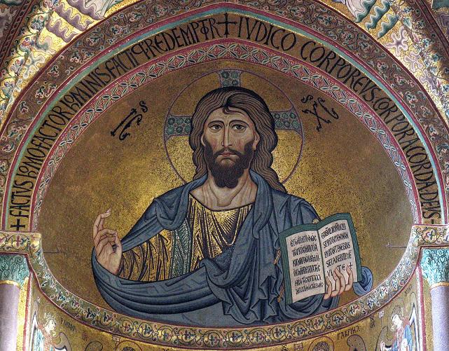 Duomo di Cefalù, Cristo Pantocratore