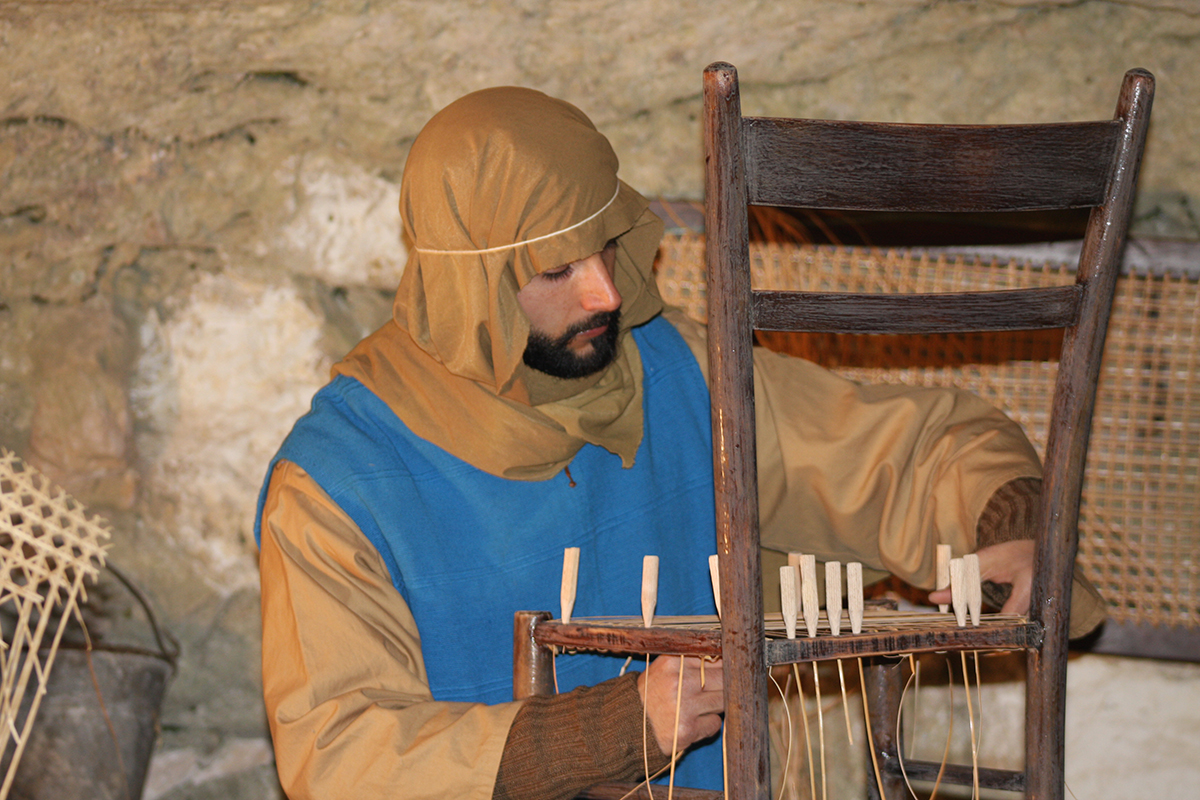 Vincenzo Paolino, canestriere del Presepe di Ispica