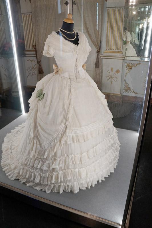 Ottocento-moda: estetica vanità e mutamento, Castello di Donnafugata, Ragusa
