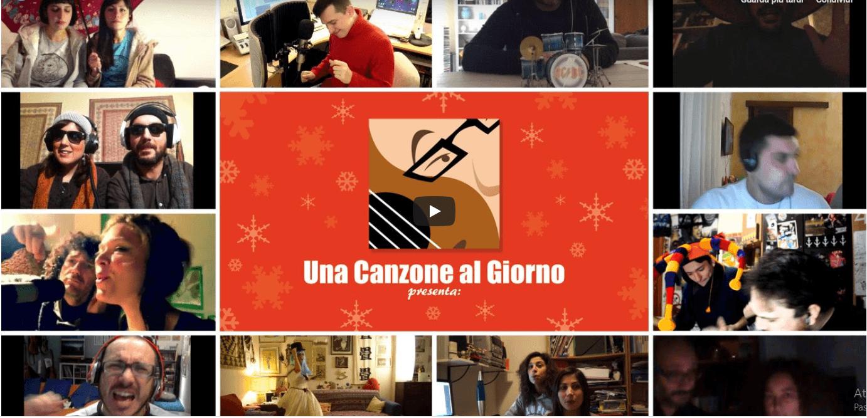 Gli auguri musicali di Sergio Algozzino e di altri 100 italiani (e sette cani)