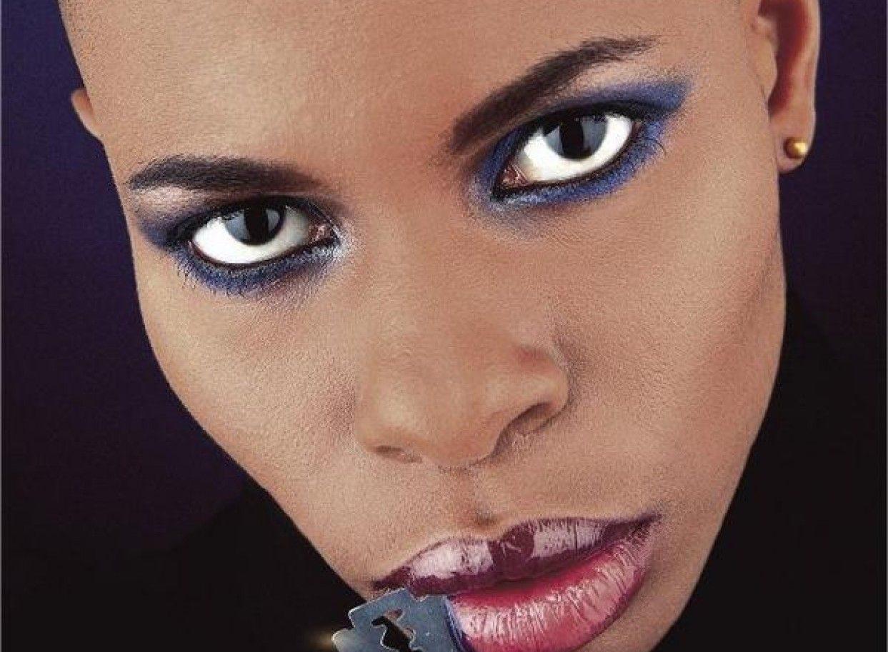 Il dj set di Skin, la regina del rock