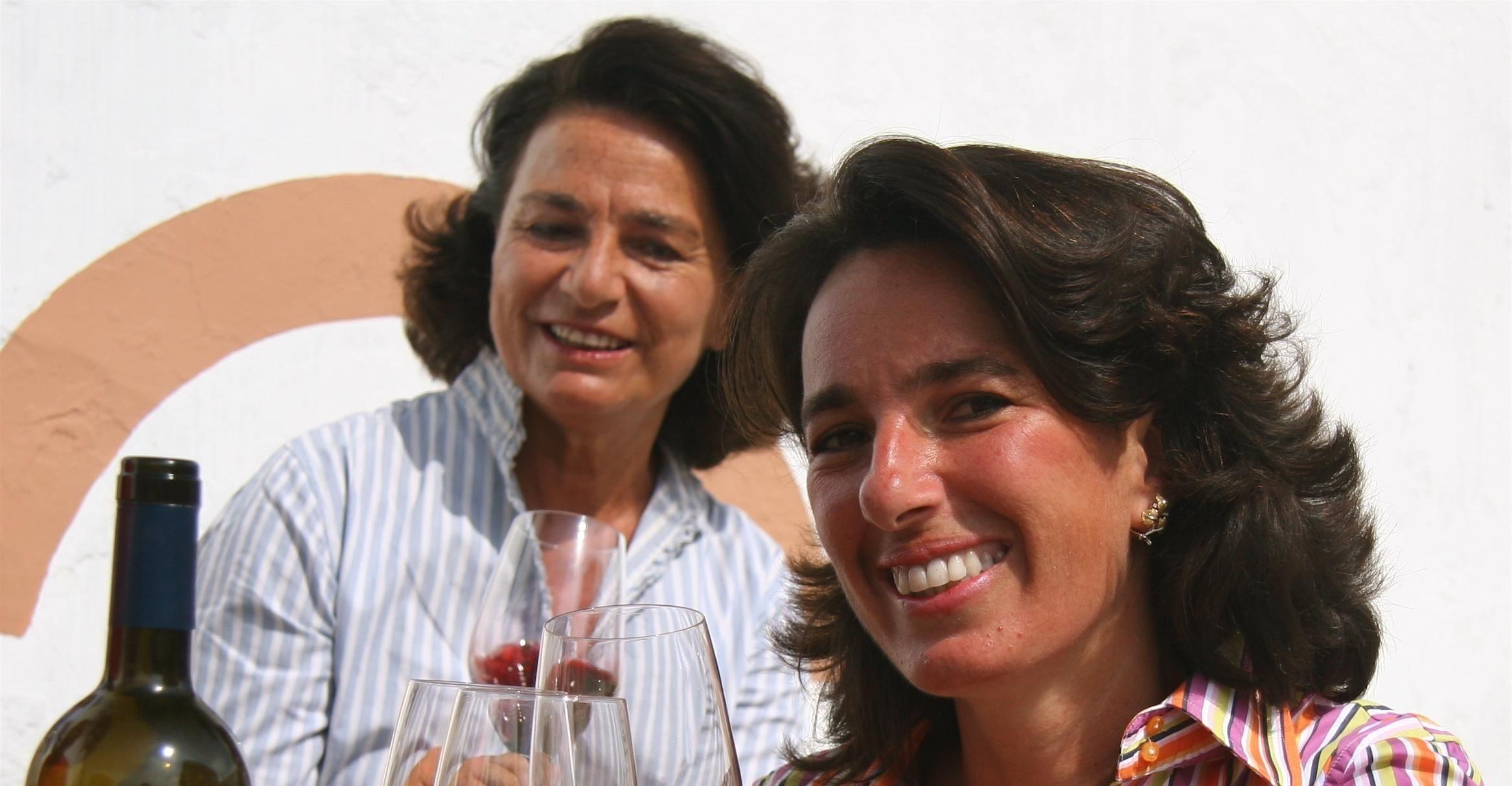 Josè Rallo come mamma Gabriella<br> ambasciatrice del vino siciliano