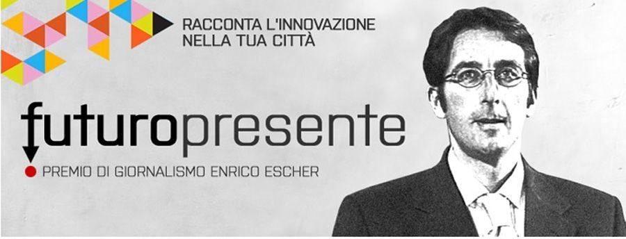 Premio giornalistico Enrico Escher, entro il 31 marzo le adesioni