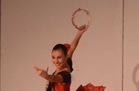 La danzatrice Lavinia Seminara all'Hamburg Ballettschule
