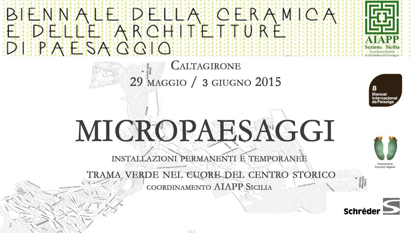 Micropaesaggi, la Biennale di Caltagirone cerca installazioni green