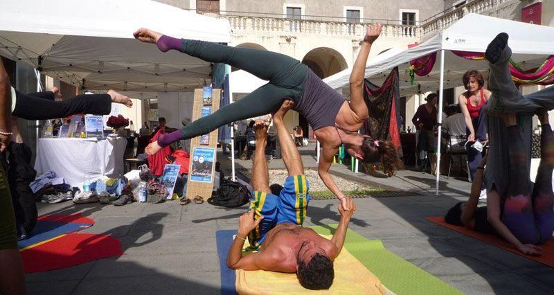 Catania celebra l'International Yoga Day